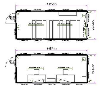 b rocontainer bm 20 von containex objekt nr 163897. Black Bedroom Furniture Sets. Home Design Ideas