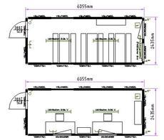 b rocontainer 20 fuss von containex objekt nr 111930. Black Bedroom Furniture Sets. Home Design Ideas