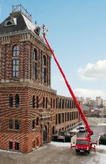 LKW Arbeitsbühne 27 m mieten leihen