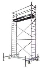 Rollgerüst  Arbeitshöhe 4,50 m mieten leihen