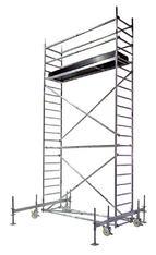 Rollgerüst  Arbeitshöhe bis 7,50 m mieten leihen