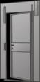 Baustellen-Tür mieten