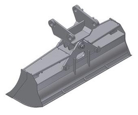 Bagger-Löffel  100  MS01  mieten leihen