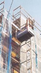 Bauaufzug mieten leihen