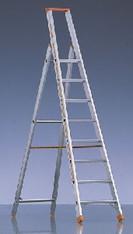 Stufen-Stehleiter 3 m mieten leihen