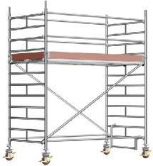 Alu FahrGerüst  8,3 m_Ah  2,85 x 1,5 m BREIT_P2 mieten leihen