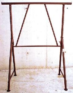 Ger/üstbock verzinkt 1,20m Stahlr 1,95m ausziehbar