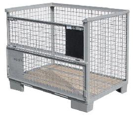 Euro-Gitterboxpalette 120 x 80 x  40  mieten leihen
