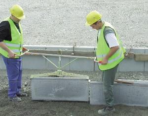 Bordstein-Versetzzange  100 kg mieten leihen