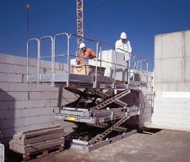 Mauerlift / Mauerbühne mieten leihen