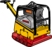 Rüttelplatte  500 kg_Reversier  60 cm_Diesel   Vor + Rück   _AKTION