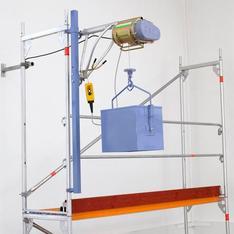 Seilaufzug 150 kg / 25 m mieten leihen