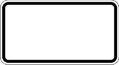 verkehrszeichen zusatzschilder ohne text grund wei rand schwarz objekt nr 112554. Black Bedroom Furniture Sets. Home Design Ideas