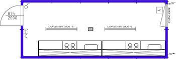 Küchencontainer - Container mit Küchenzeile mieten leihen