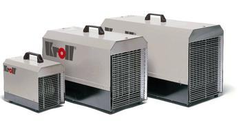 Elektro-Heizgebläse 18 kW    E-check mieten leihen