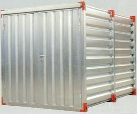 Baustellencontainer mieten leihen