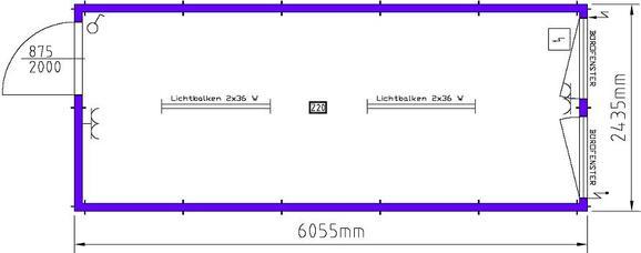 wohncontainer objekt nr 116424 baumaschinen mieten und bauger te mieten beim 5 sterne. Black Bedroom Furniture Sets. Home Design Ideas