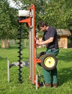 Erdbohrgerat Zum Anbauen An Bagger Mieten Baumaschinen Mieten Und
