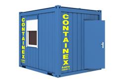 b rocontainer schlafcontainer wohncontainer mieten baumaschinen mieten un. Black Bedroom Furniture Sets. Home Design Ideas