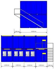 Burocontainer Schlafcontainer Wohncontainer Mieten Baumaschinen Mieten Und Baugerate Mieten Beim 5 Sterne Mietverbund