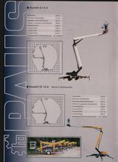Teleskop-Arbeitsbühne mieten leihen