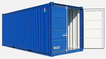 Lagercontainer / Seecontainer Typ 20' mieten leihen