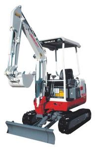 Elektro-/Diesel-Minibagger 1,7 t (Hybrid) mieten leihen
