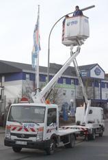 LKW-Arbeitsbühne 11 m von France Elévateur mieten leihen