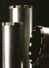 Abnutzung Dia-Bohrkrone ø 180 mm mieten leihen