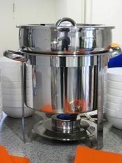 Speisenwärmer mit Suppen-/Speiseeinsatz mieten leihen