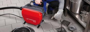 Rohrreinigungsmaschine für Ø 20 - 150 mm mieten leihen