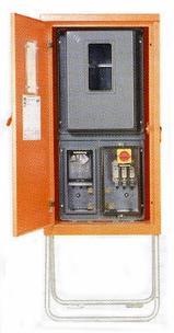 Baustrom-Anschlußschrank 55 KVA/400V mieten leihen
