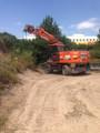 Mobilbagger 20 Tonnen mieten leihen