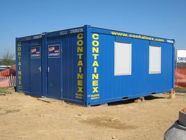 Container Dou Anlagen Div. Aussführungen mit Ausstattung  mieten leihen