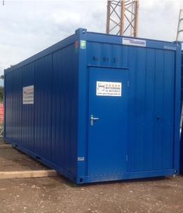 container 20 wohncontainer incl standard austattung von containex objekt nr 197798 spira. Black Bedroom Furniture Sets. Home Design Ideas