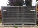 3,50 x 2,00 m  Bauzaun Element   mieten leihen