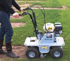 Rasensodenschneider, Sodenschneider, Rasen abtragen mieten leihen