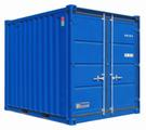 """Magazincontainer, Materialcontainer, Seecontainer 10"""" mieten leihen"""