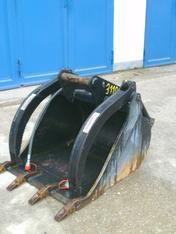 Niederhalter-Tieflöffel für Bagger ab Gewichtsklasse 6,5 - 11,5 t mieten leihen