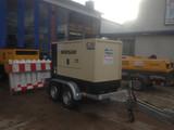 Stromerzeuger bis 30KVA mit Fahrgestell mieten leihen
