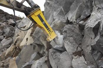 Hydraulikanbauhammer mieten leihen