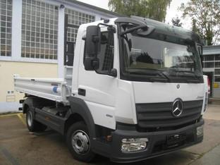 LKW 7,49 Tonnen, Kipper, 3-Seiten-Kipper, Transporter, Pritschenwagen, Lastwagen mieten leihen
