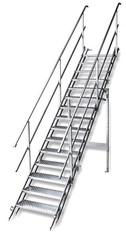 Bautreppe, klappbar mit  15 Stufen mieten leihen