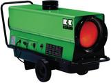 Öl- und Diesel-Heizautomat / Heizgerät / Ölheizer mit Abgasführung und Thermostat mieten leihen