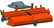 Kehrmaschine für Radlader mieten leihen