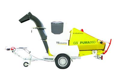 Trommelhäcksler / Gartnehäcksler /Alleshäcksler auf Fahrgestell  mieten leihen